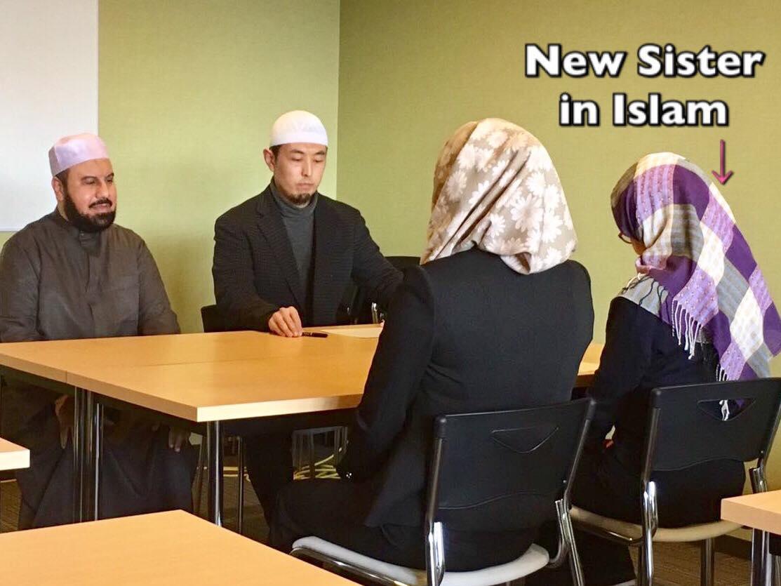 New sister in Islam