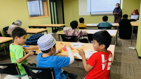 子供たちはノアの方舟物語を学びました!