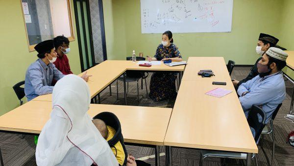 日本語教室を再開しました【オリエンテーション】